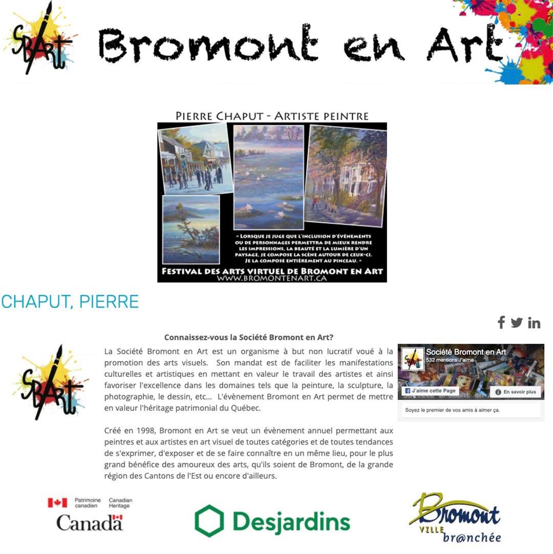 Bromont en Art